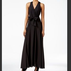 RACHEL Rachel Roy Sleeveless Tie-front Maxi Dress